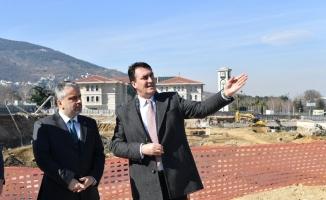 """Salman: """"Osmangazi Meydanı gurur projemiz"""""""
