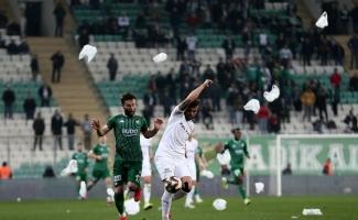 TFF 1. Lig: Bursaspor: 2 - Altay: 2