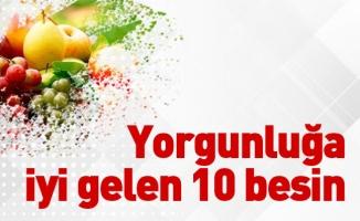 Yorgunluğa iyi gelen 10 besin