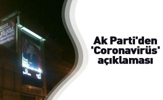 Ak Parti İnegöl'den 'Coronavirüs' açıklaması