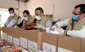 Bursa iş dünyasından 10 bin aileye erzak yardımı