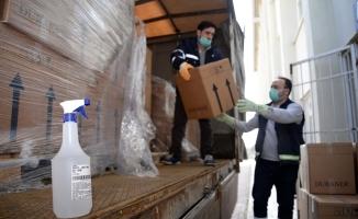 Bursa iş dünyasından BUÜ Hastanesi'ne malzeme desteği