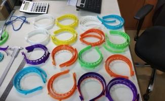Bursa'da 3D yazıcıdan tıbbi siper üretildi