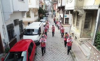 Mudanya Bandosu'ndan Mudanyalılara moral konseri