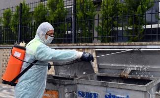 Osmangazi'de 200 bin çöp konteyneri ilaçlanıyor