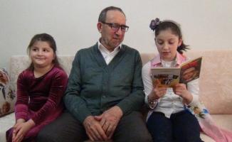 77 yaşındaki Mikail amcadan korona şiiri