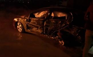 Alkollü sürücü 3 araca çarptı; 1 yaralı
