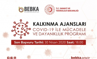 BEBKA'dan virüsle mücadeleye 15 milyon TL hibe