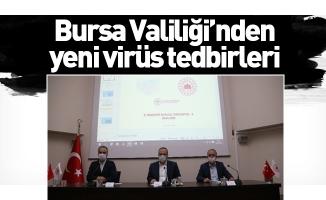 Bursa Valiliği'nden yeni virüs tedbirleri