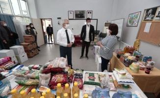 """Bursa'da ihtiyaç sahipleri için """"Dayanışma Marketi"""" kuruldu"""