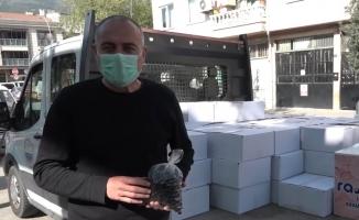 Hayırsever çiftçiden Belediye Başkanı Sertaslan'ı duygulandıran destek