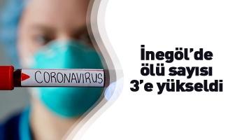 İnegöl'de koronavirüsten ölenlerin sayısı 3'e yükseldi