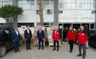 Türk Kızılay Bursa Şubesi umut olmaya devam ediyor