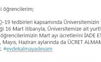 Uludağ Üniversitesi Rektörü Kılavuz'dan öğrencileri sevindirecek haber