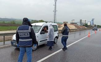 Yasak sonrası Bursa-İzmir yolu boşaldı