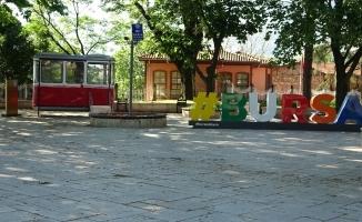 Bayramda Bursa sokakları sessiz kaldı