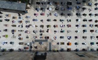 Binlerce Bursalı Tarihi Ulucami'de buluştu