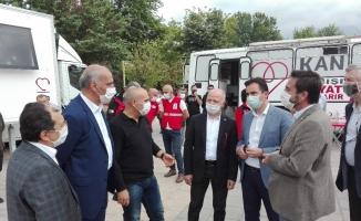Bursalılardan kan bağışına büyük ilgi