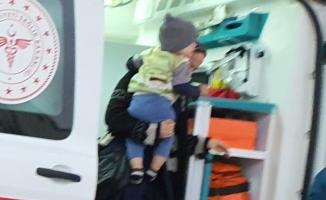 Çamaşır suyu içen çocuk hastanelik oldu