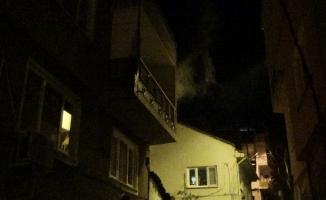Korkutan yangın mahalle sakinlerini sokağa döktü