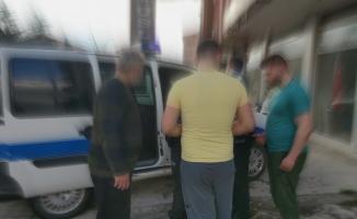 MOBESE'ye takılan sokakta top oynayan 4 kişiye ceza