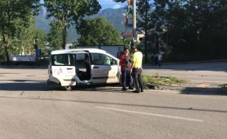 Sokak kısıtlamasında ilginç kaza