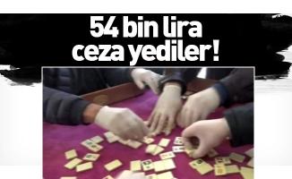 54 bin lira ceza yediler!