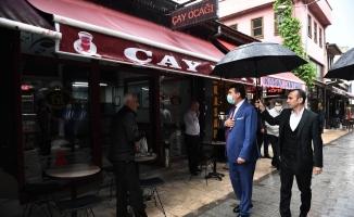 Başkan Dündar'dan ilk gün ziyareti