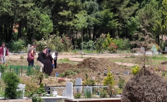 Bursa'da benzinlikte öldürülen İnegöllü Hayrullah Yılmaz, defnedildi.