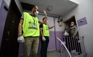 Bursa'da 10 Günde 24 bin 666 Sosyal Destek