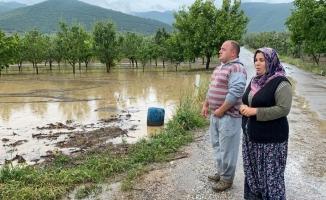 Bursa'da binlerce dönüm ekili tarla sular altında