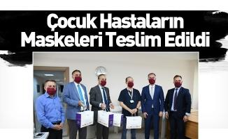Çocuk Hastaların Maskeleri Teslim Edildi