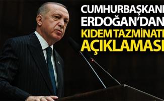 Cumhurbaşkanı Erdoğan: 'Her işçimizin hakkını korumak, en başta gelen görevimizdir'