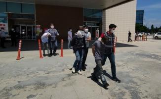 Hırsızlık olaylarına karışan 3 şüpheli yakalandı