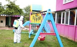 Nilüfer'de anaokulu ve kreşlere virüs önlemi