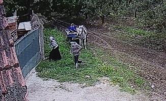 (Özel ) Bursa'da hırsızlar kazanları böyle çaldılar