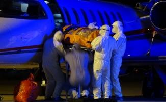 Rusya'da korona virüs bulaşan 2 Türk, özel uçakla Bursa'ya getirildi