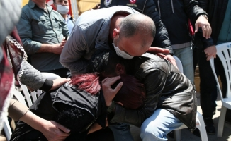 Şehit olan Narkotik polisi baba evine getirildi