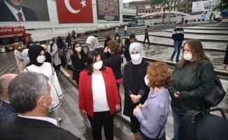 Türk Kızılay Bursa Şubesi'nin kan bağışı kampanyasına büyük ilgi