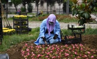 Yeni normalde Osmangazi'de park ve bahçeler tertemiz