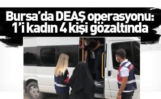 Bursa'da DEAŞ operasyonu: 1'i kadın 4 kişi gözaltında