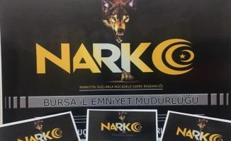 Bursa'da narkotik operasyonu: 2 gözaltı