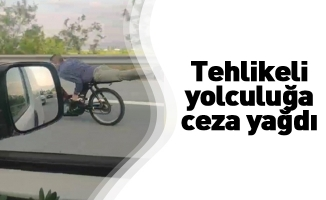 Bursa'da tehlikeli yolculuğa ceza yağdı