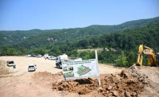 İnegöl Hilmiye Mahallesi'nde yeni yerleşim yeri oluşturuluyor