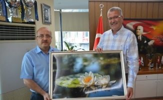 Karacabey Kaymakamı Yolcu'dan Başkan Özkan'a veda ziyareti