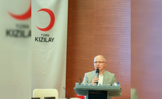 Kızılay Bursa Şubesi'nin çalışmaları ödülle taçlandırıldı