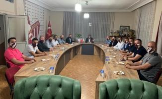 MHP Yönetiminden İnegölspor'a Destek Ziyareti