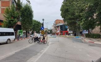Nuri Doğrul Caddesi trafiğe kapatıldı