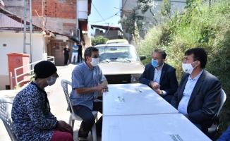 Osmangazi Belediye Başkanı Dündar'dan şehit evine taziye ziyareti