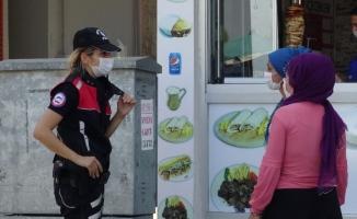 Bursa'da 14 bin kişiye maske cezası